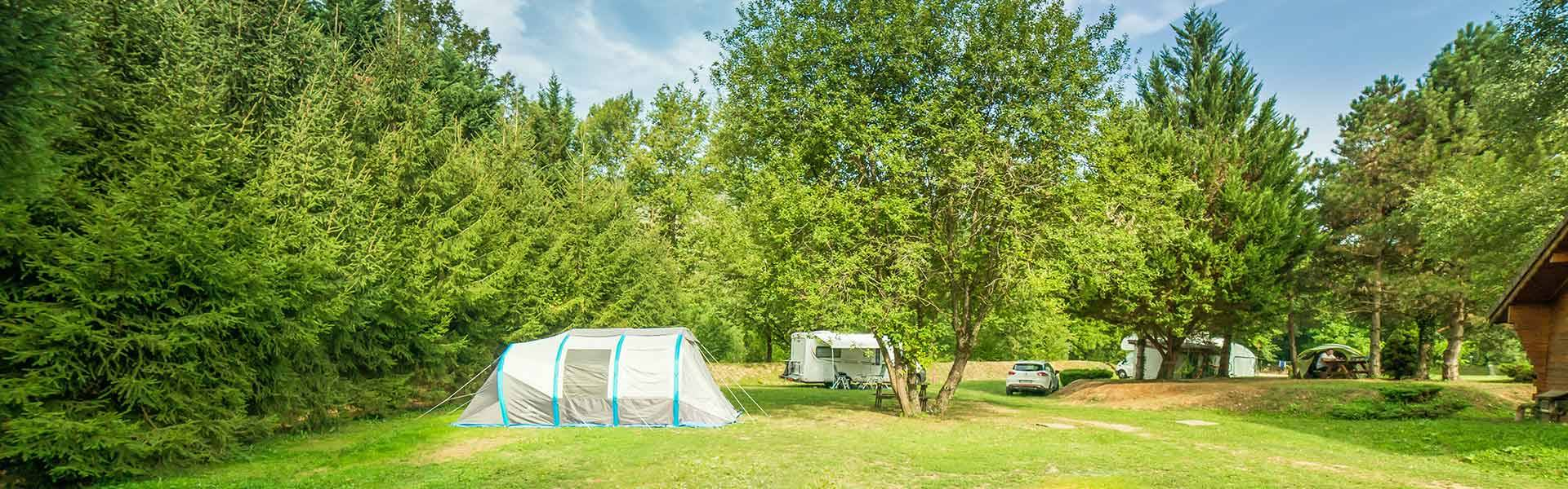 emplacement camping lac laffrey